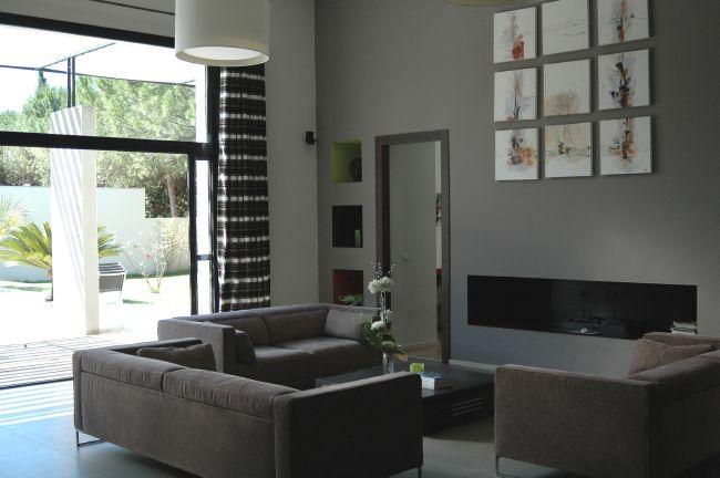 Raffinement et l gance pour cette maison d 39 architecte for Architecte interieur herault