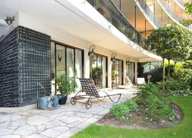 Appartement terrasse avec beau jardin face au bois de - Terrasse jardin immo aulnay sous bois ...