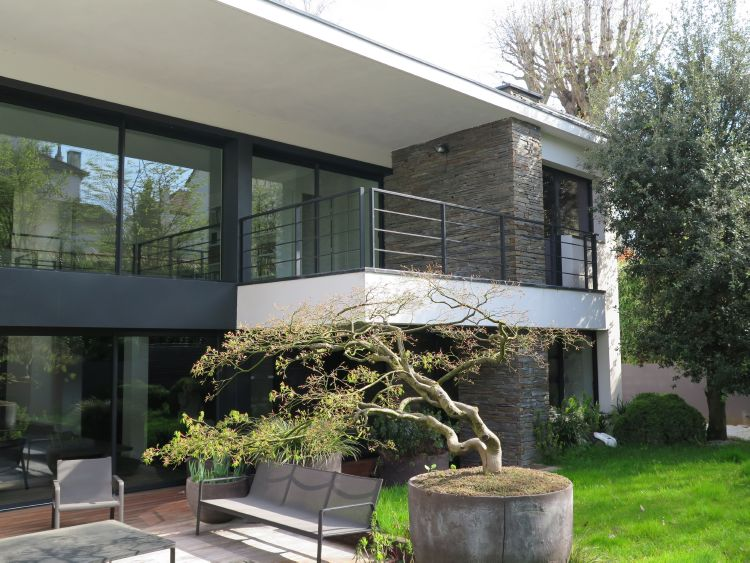 Splendide villa d 39 architecte de 2005 bords de marne 15 for Maison d architecte paris
