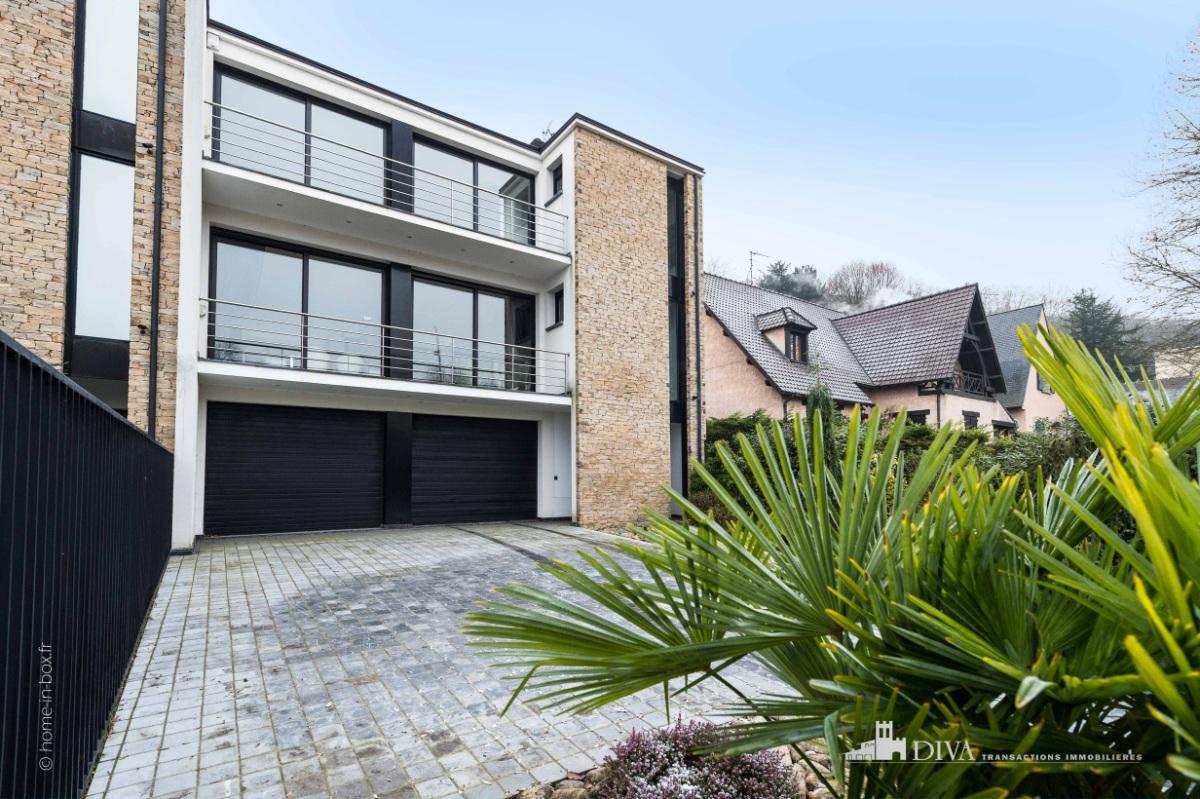 Tr s belle maison d 39 architecte de 2008 en bords de marne - Belle maison d architecte los angeles ...